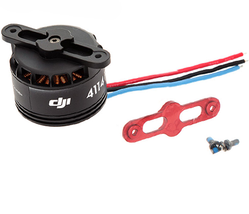 Мотор DJI S1000-Premium 4114 Motor with red Prop cover